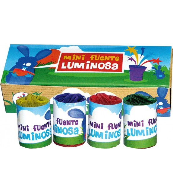 4 MINI FUENTE LUMINOSA