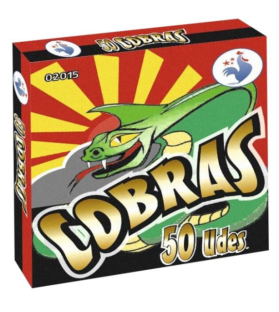 50 PETARDOS COBRAS